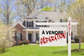 Maison à vendre : SÉPARATION